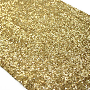 Gold Sequin Table Runner - Bickiboo Party Supplies