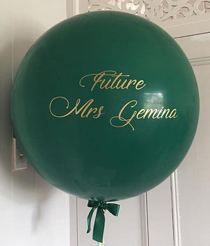 Personalised Giant 90cm Balloon