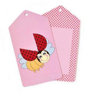 Lady Beetle Gift Tag - Bickiboo Party Supplies
