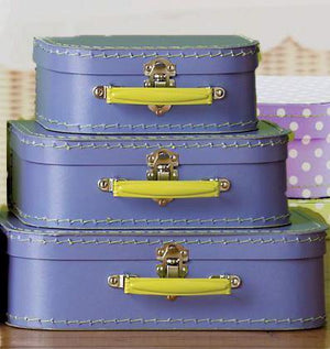 Lavender Euro Suitcases - Bickiboo Party Supplies