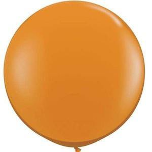 Jewel Mandarin Orange Balloon - 90cm