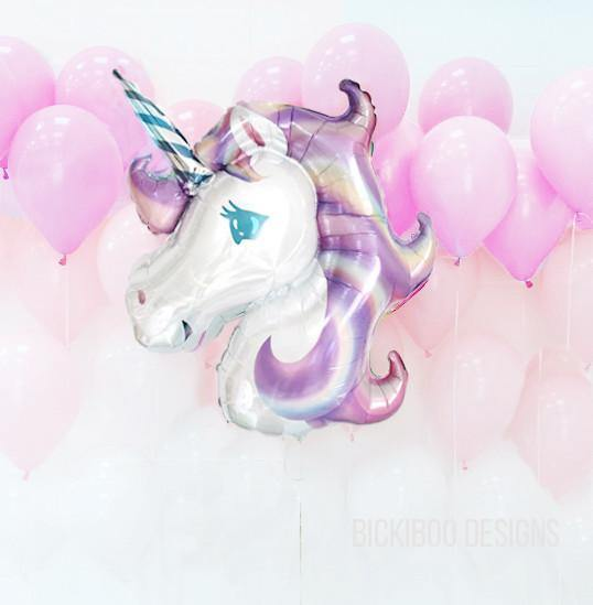 bickiboo designs unicorn balloon