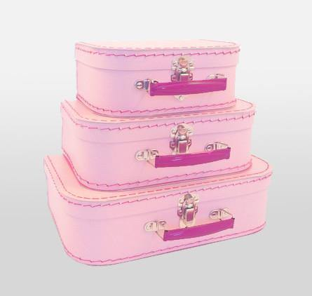 Orchid Pink Euro Suitcases - Bickiboo Party Supplies