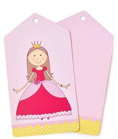 Princess Gift Tag - Bickiboo Party Supplies