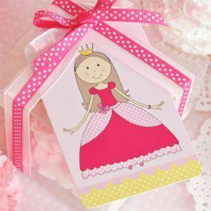 Princess Dessert Party Plate - Bickiboo Designs
