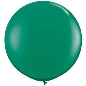 Giant Jewel Emerald Green Balloon - 90cm
