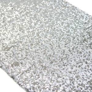 Silver Sequin Table Runner - Bickiboo Designs