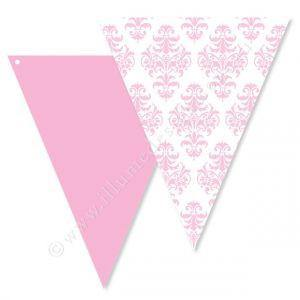 Damak Pink Party Buntings