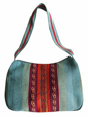 Zenaida Handbag Turquoise - The PachaMama Project