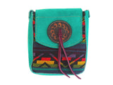 Otavalo Suede Cross Body Bag - The PachaMama Project