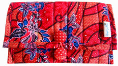 Batik Quilted Clutch - The PachaMama Project