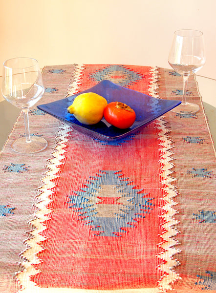 Tai Leu Table Runner Red