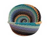 Zulu Small Wire Basket Blue* - The PachaMama Project