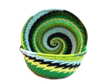 Zulu Small Wire Basket Green* - The PachaMama Project