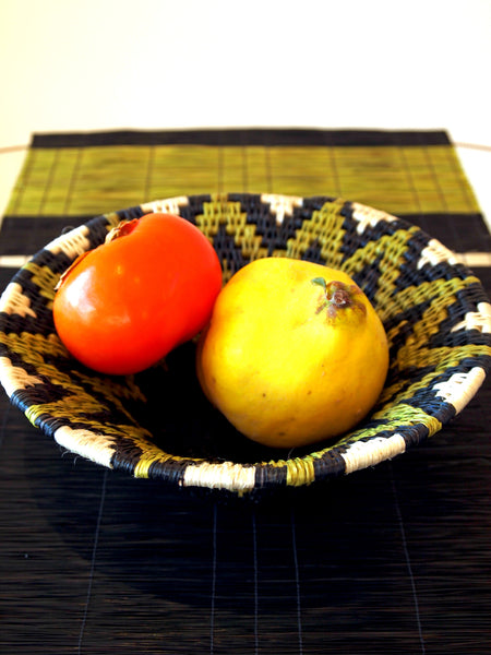 Gone Rural Table Runner Lime