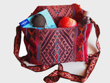 Handmade handwoven bag ethically sourced from Peru