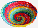 Zulu Large Wire Basket Rainbow*