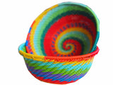 Zulu Large Wire Basket Rainbow* - The PachaMama Project