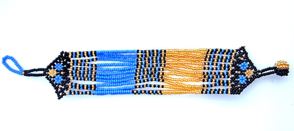 Zanele Blue Beaded Bracelet