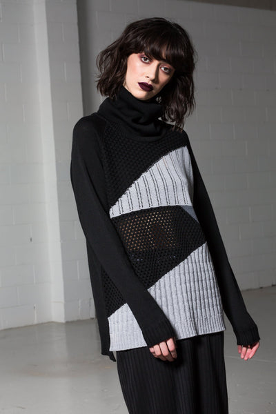 Shadow Jumper - Black and Grey