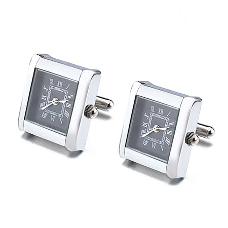 Functional Watch Cufflinks - Square I