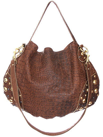 Brown Hornback Leather