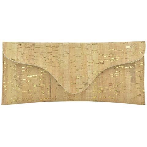 Bree Clutch Gold Cork