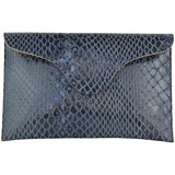 Blake Clutch Navy Alligator