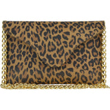 Miley Leopard Leather Crossbody