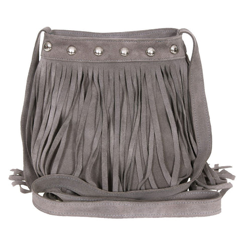 Daveigh Crossbody Elephant Suede