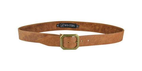 Kylie Leather Belt Honey Leather