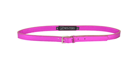 Abby Belt Hot Pink Metallic