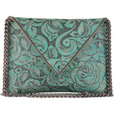 Andi Crossbody Turquoise Floral