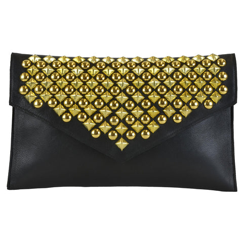 Blair Clutch Black Lamba