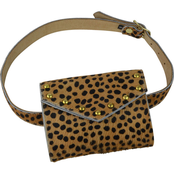 Brooklyn Belt Bag Mini Leopard Calf Hair