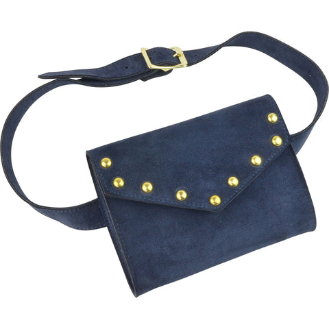 Brooklyn Belt Bag Navy Suede