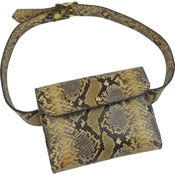 Beverly Belt Bag Diamond Python