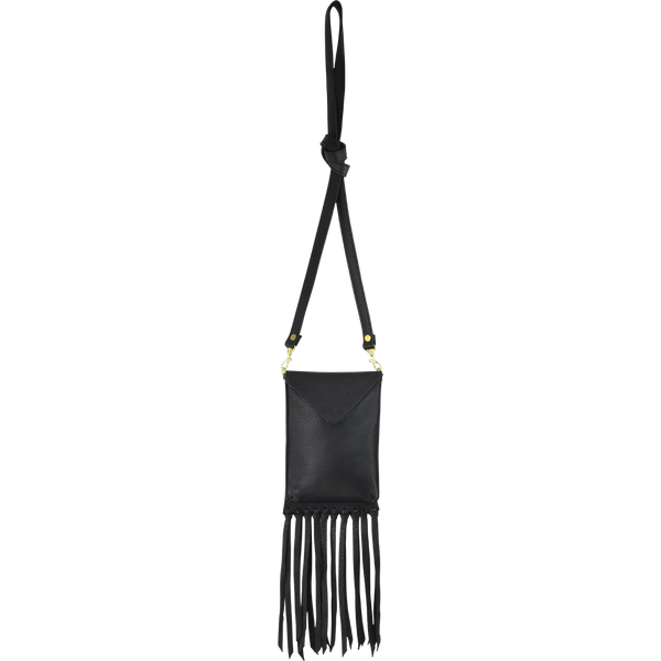 Averie Crossbody Black Lamba