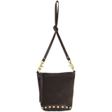 Annabelle Messenger Espresso Leather/Chocolate Suede