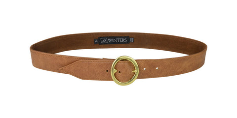 Olivera Belt Honey Leather