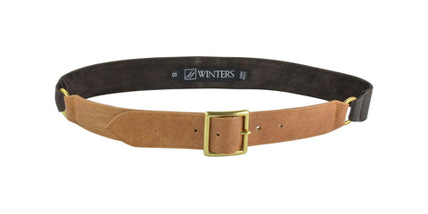 Legion Belt Honey Leather/Brown Distressed Leather