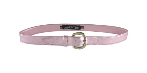 Willa Belt Light Pink Metallic