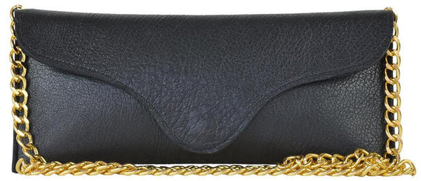 Bree Chain Clutch Black Martino