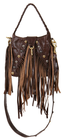 Brown Distressed Leather