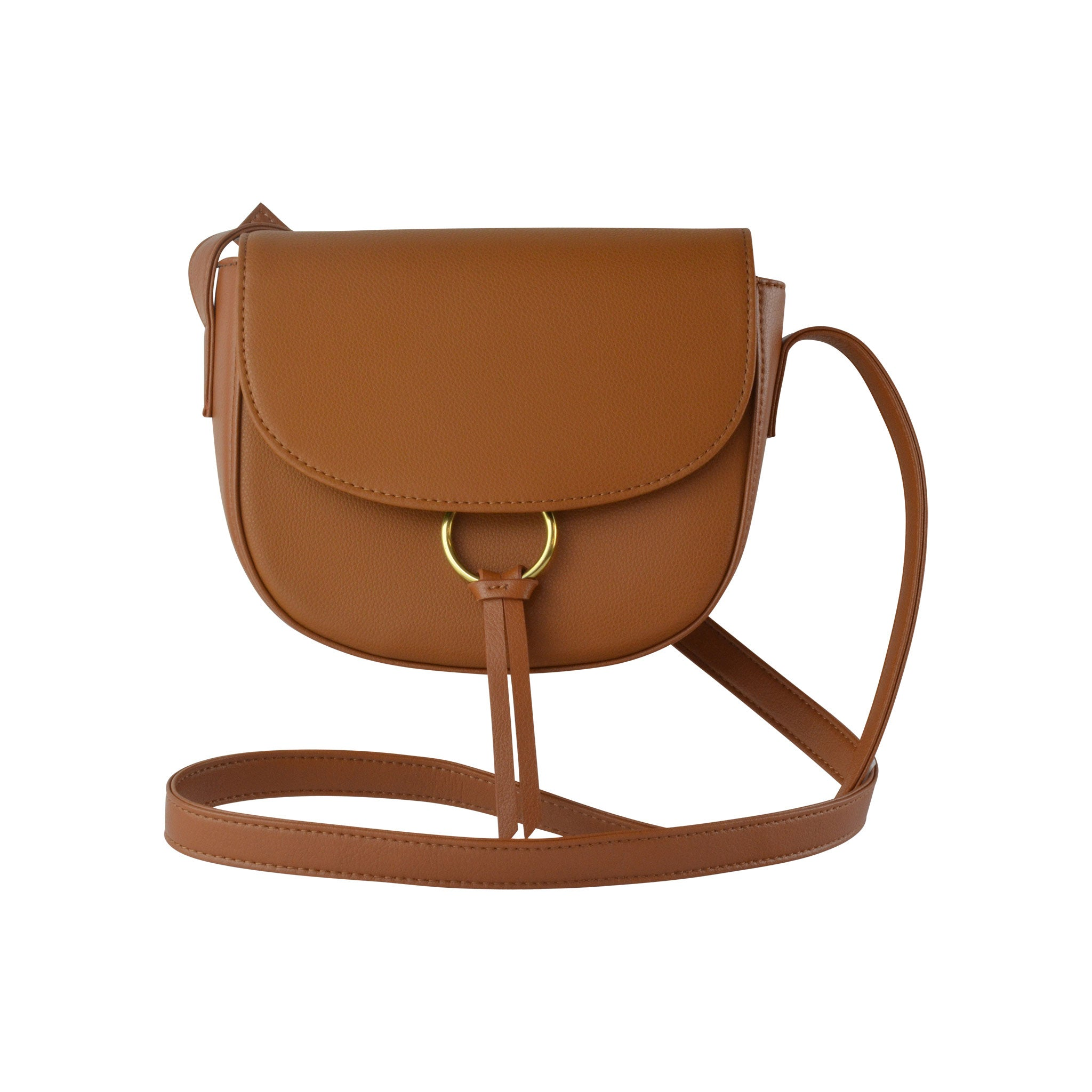 Ivy Crossbody Vachetta Leather