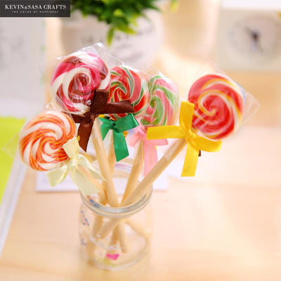 3pcs Lollipop Random Color Ballpoint Pen