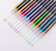 16pcs/Set Glitter Gel Highlighter Pen