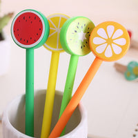 4pcs/set 0.7mm Creative Fruit Gel Pen