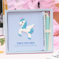 Cute Unicorn Notebook Set