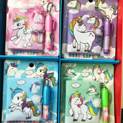 Unicorn Notebook with Ballpoint Pen Set